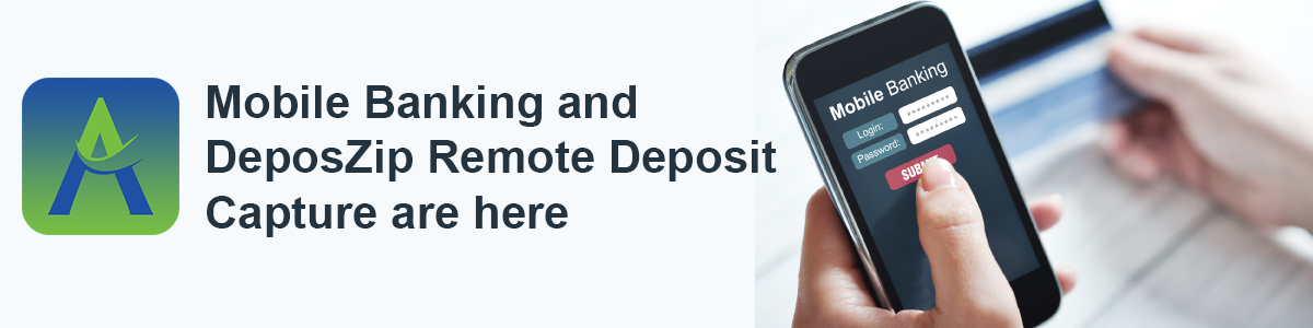 Mobile Banking & Remote Deposit Capture will be live